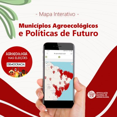 Pesquisa 'Municípios Agroecológicos e Políticas de Futuro' vira mapa interativo